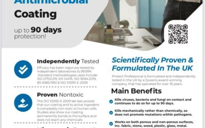 Long Lasting Revolutionary Antimicrobial Coating
